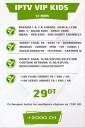 Abonnement IPTV KIDS 12 mois +500 Chaines TV tunisie