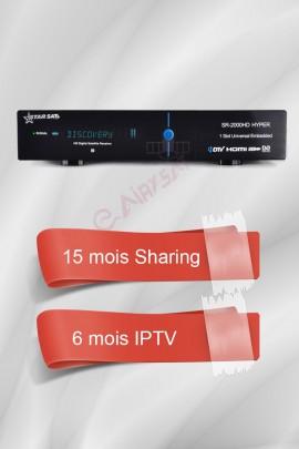 Récepteur Starsat 2000HD Hyper + 15 mois G-Share