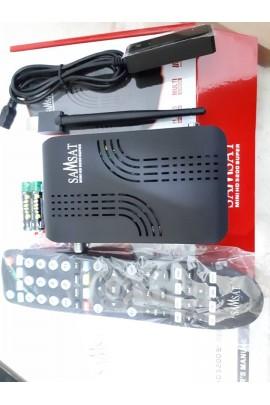 Récepteur Samsat 5200 HD Super + 15 mois Sharing Forever et 12 mois IPTV AIRYSAT + VOD