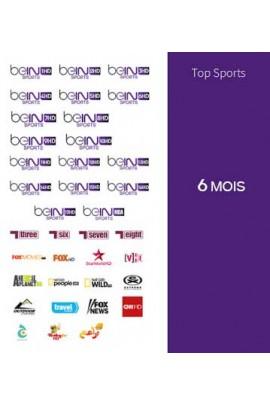 Abonnement Bein Sports 6 mois TOP SPORTS