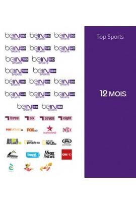 Abonnement Bein Sports 12 mois TOP SPORTS